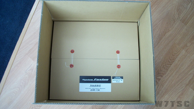 Produt box, inside shipping box